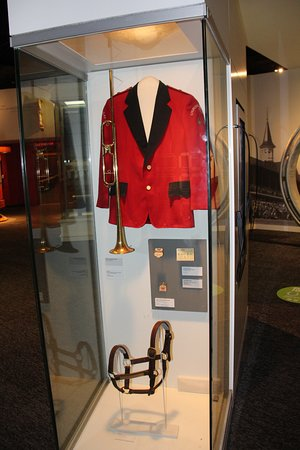 Kentucky Derby Museum: Bugle and Buglers coat