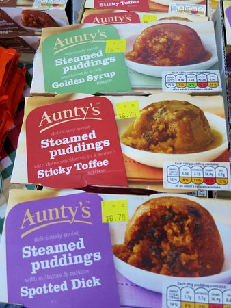 Huber Heights, OH: Assorted items at Wise Choice British Foods