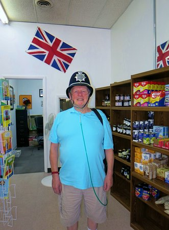 Barry visiting Wise Choice British Foods