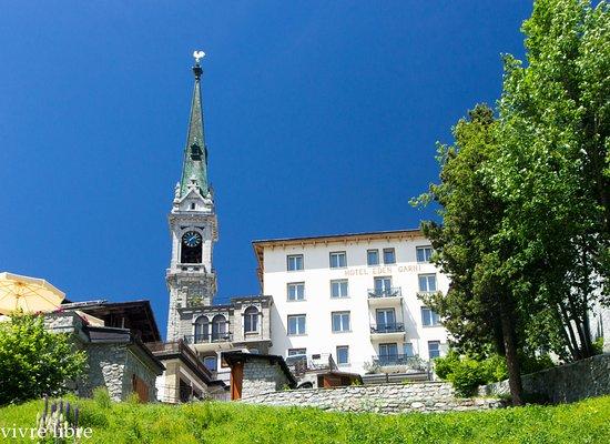 Hotel Eden Garni St. Moritz: hotel view
