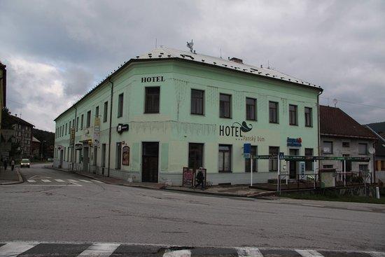 Hotel panský dům vyšší brod recenze