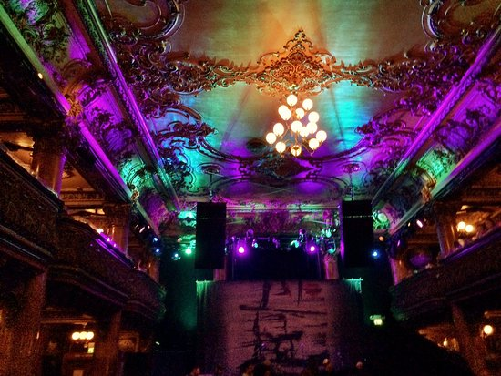 Inside Great American Music Hall for Hayes Carll