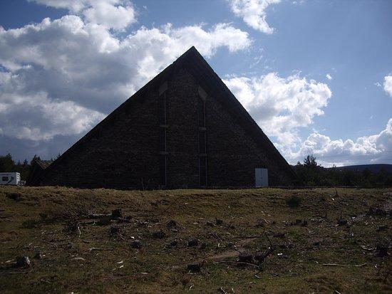 Lozere, Frankrike: Chapelle contruite par les scouts de france