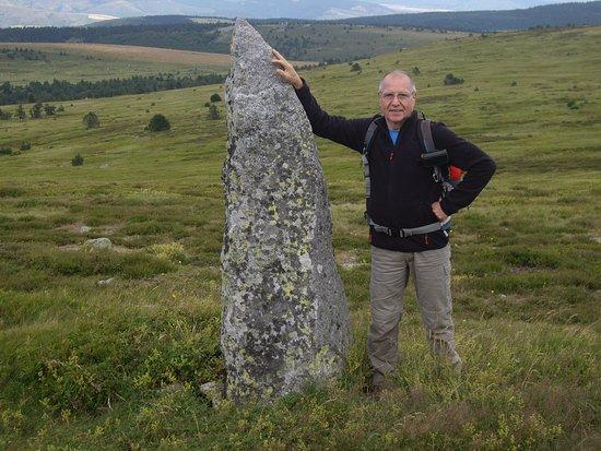 Lozere, Frankrike: Parccourir le chemin de Stevenson sur le Mont Lozére