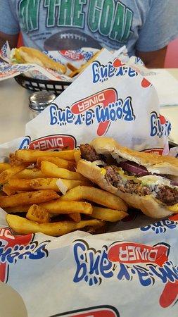 Claremore, OK: 2 Burger Baskets & 2 Med drinks $10.39.  Yum yum