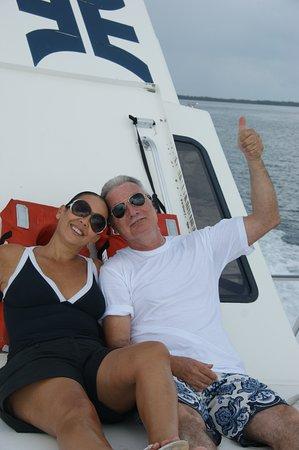 Turneffe-øerne, Belize: נוסעים קצת מ turnef island