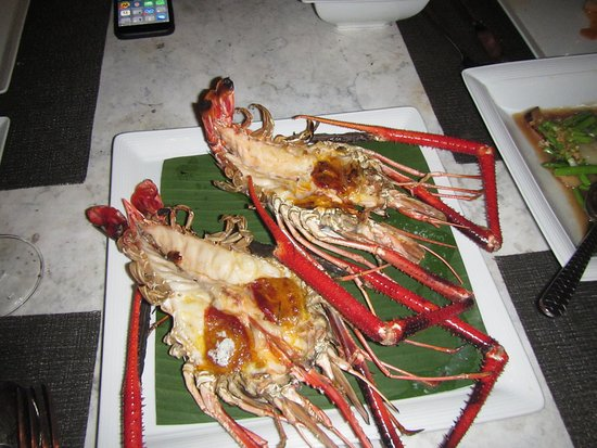 giant freshwater prawns - Picture of Sala Ayutthaya Eatery