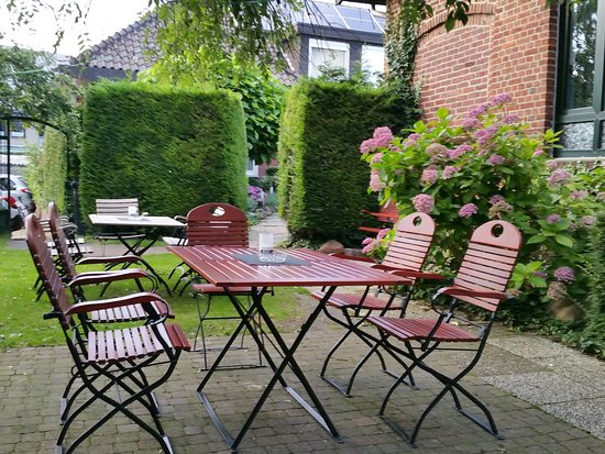 Altenberge, Germany: Biergarten der Ratsschänke Bornemann