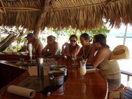 Turneffe Island, Belize: הבר