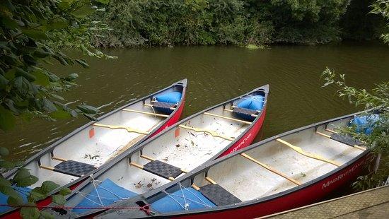 Wall Eden Farm: Canoe Hire