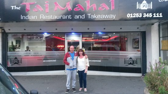 The Taj Mahal Blackpool: Lovely restaurant ,great food and friendly staff