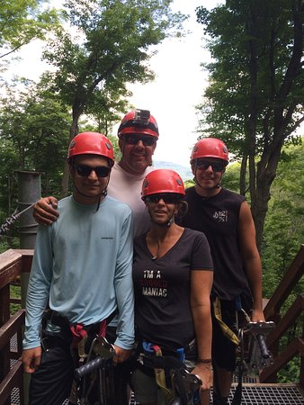 Hunter, estado de Nueva York: Zipline Adventure