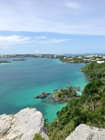 Hamilton, Bermuda: View from the top