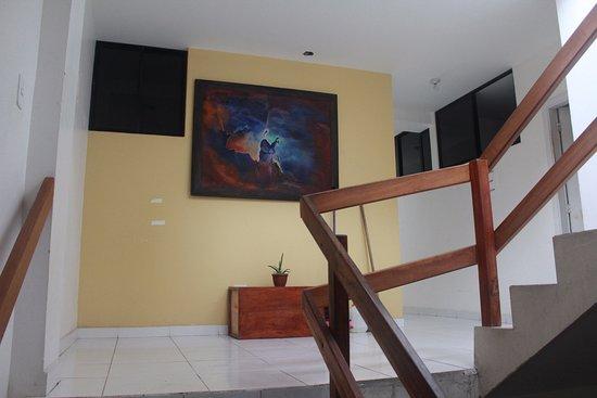 Hotel Rio: Subida a las habitaciones