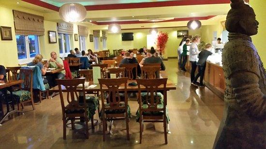 Tulln, Oostenrijk: Khan's Wok & Teppanyaki