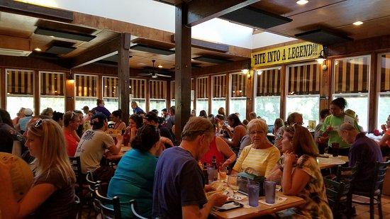 New Buffalo, MI: Back dining room
