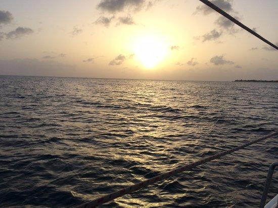 Simpson Bay, St. Maarten-St. Martin: sunset views