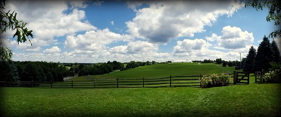 Bethel, NY: Field where Woodstock concert took place in 1969