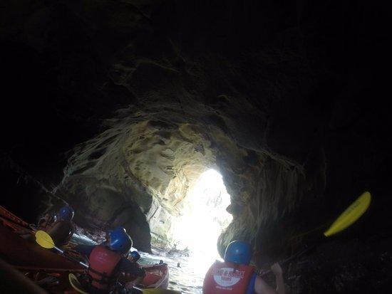 Bike and Kayak - La Jolla: Inside the cave