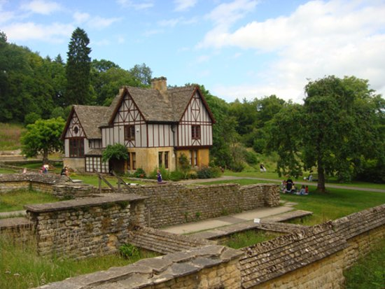 Yanworth, UK: Chedworth Roman Villa