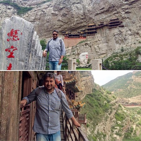 Hengshan Hanging Temple (Xuankong si): Hanging Temple