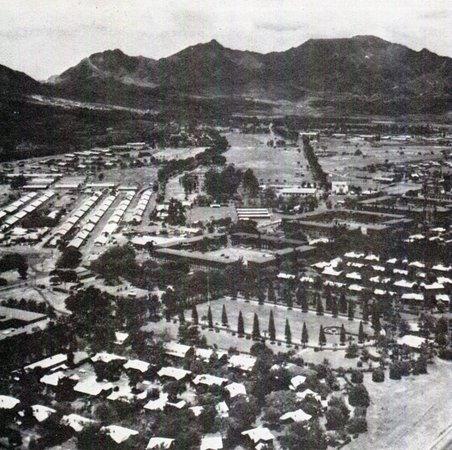 U.S. Army Schofield Barracks: Archival photograph of Schofield Barracks