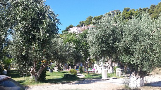 Vassilias Beach Apartments: Palazzina camere vista dalla zona piscina