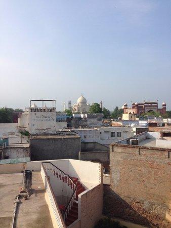 Hotel Sidhartha: Vue du toit