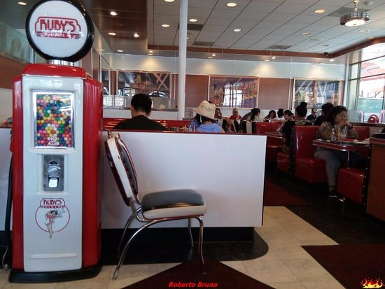 Ruby's Diner: Distributore di chewing-gum
