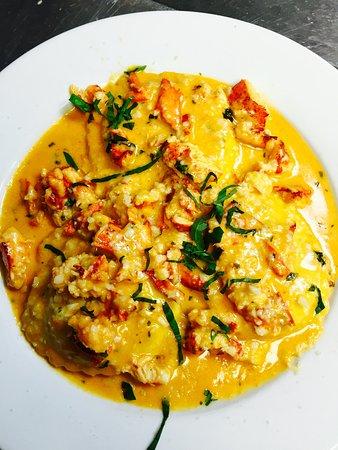 Homemade Jumbo Lobster & Crab Ravioli