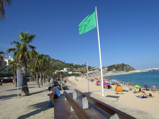 Blanes, Spagna: Plage très agréable