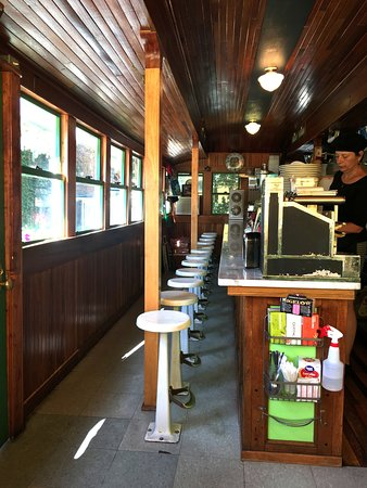 Lanesboro, MN: Inside of the diner