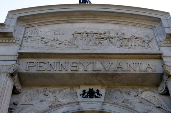 ‪State of Pennsylvania Monument‬