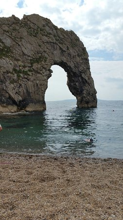 Dorset Day Trips 20160730_145359_large.jpg & Daren telling us about Durdle Door. - Picture of Dorset Day Trips ... pezcame.com