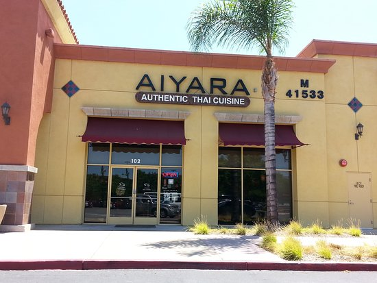 Aiyara thai cuisine asian restaurant 41533 margarita for Aiyara thai cuisine temecula ca