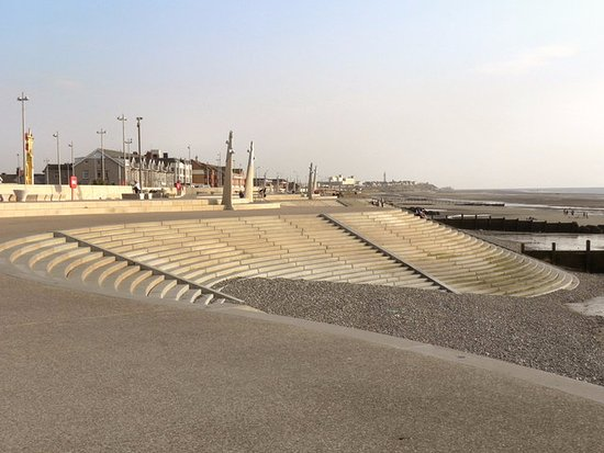 photo of cleveleys new promenade - Cleveleys Front ...