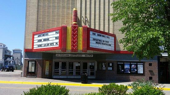 Outside Michigan Theatre (daylight)