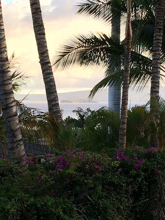 Aston Maui Hill: View of Molokini from Lanai