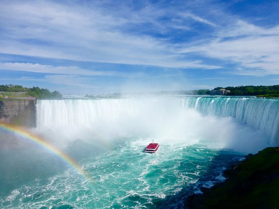 Ambiance by the Falls Bed and Breakfast : chutes du Niagara over the rainbow