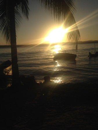 Cairu, BA: Por do sol