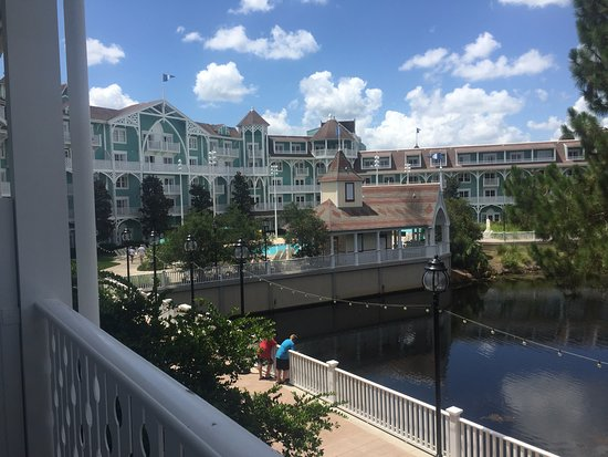 Beach Club Villas 2 Bedroom Balcony View From 278 Second Bedroom Picture Of Disney 39 S