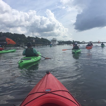 We had an amazing kayak tour with our guide Ben. We will definitely be back next year!