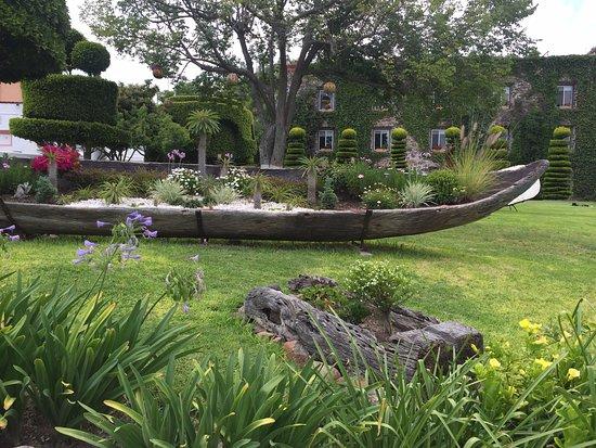 Posada de la Aldea: Parte de los jardines