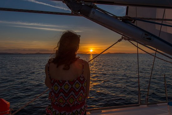 Great Keppel Island, Austrália: Amazing sunset