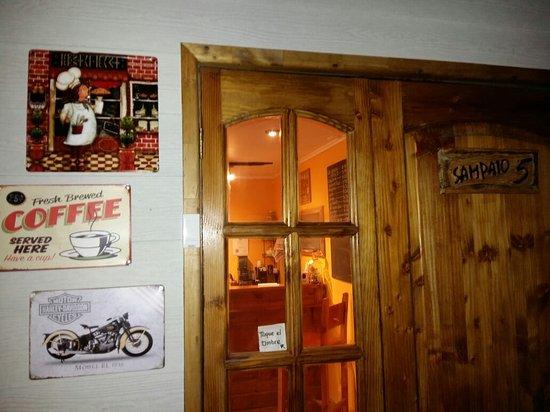 Porvenir, شيلي: Sabores del Fuego Cafetería