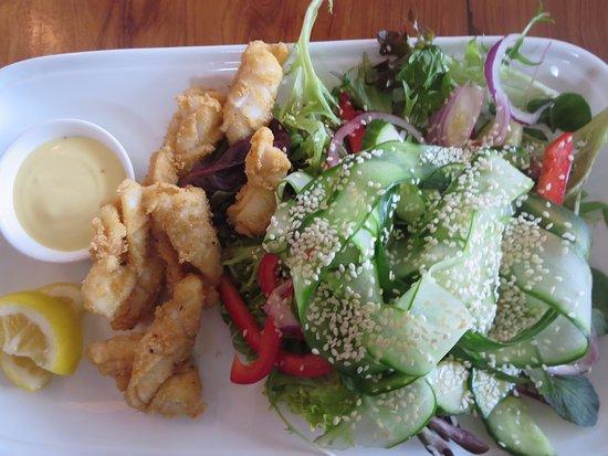 Meeniyan, Австралия: Salt and pepper calamari