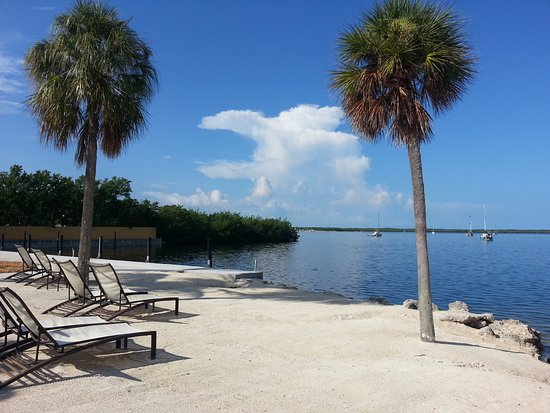 Hampton Inn Key Largo: Praia Particular do Hotel