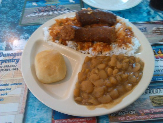 Lake Arthur, LA: My plate lunch today