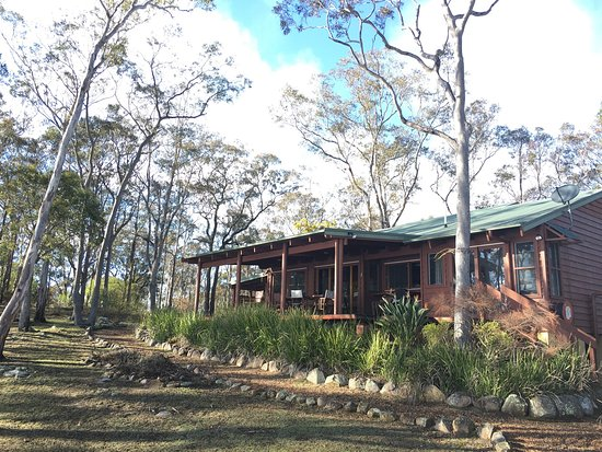 "Vacy, Australia: Eagle Reach in August.""Bilby"" lodge"