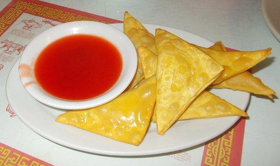 Orange, VA: Chinese cheese wonton